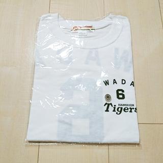 ハンシンタイガース(阪神タイガース)の未使用 阪神タイガース Tシャツ 白 L(Tシャツ/カットソー(半袖/袖なし))