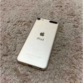 アイポッドタッチ(iPod touch)の【値下げ】iPod touch 第6世代 32GB ゴールド(ポータブルプレーヤー)