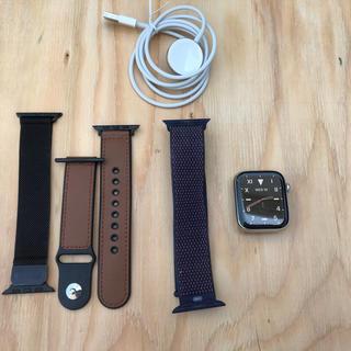 アップルウォッチ(Apple Watch)のApple Watch Series4 ステンレススチール 44mm Care+(腕時計(デジタル))
