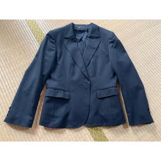 アオヤマ(青山)の黒無地 セットアップスーツ  3点セット(スーツ)