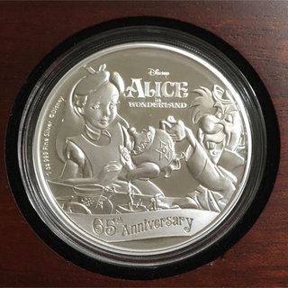 ふしぎの国のアリス - ふしぎの国のアリス 1オンス銀貨プルーフ 2016年ニウエ発行 ディズニー