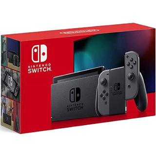 ニンテンドースイッチ(Nintendo Switch)の【新品・未開封】Nintendo Switch 本体 グレー(家庭用ゲーム機本体)