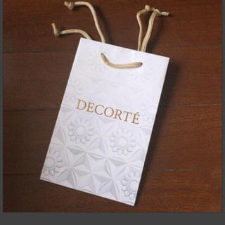 コスメデコルテ(COSME DECORTE)の新品 未使用 コスメデコルテ DECORTE ショッパー 紙袋(ショップ袋)