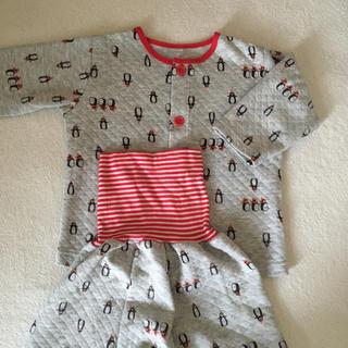 アカチャンホンポ(アカチャンホンポ)の腹巻きつきパジャマ SIZE:90(パジャマ)