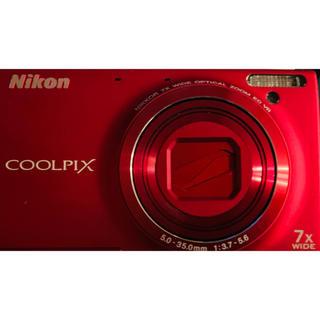 ニコン(Nikon)のデジタルカメラ Nicon COOLPIX S6100  新品(コンパクトデジタルカメラ)