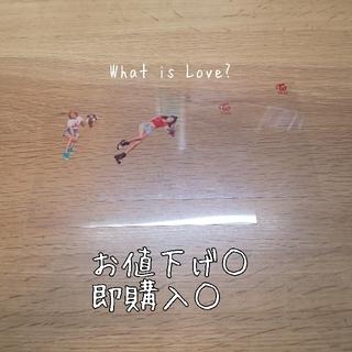 ウェストトゥワイス(Waste(twice))のWhat is Love? クリアポストカード ジヒョ ジョンヨン(アイドルグッズ)