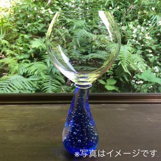 スガハラ(Sghr)の【新品】スガハラ ギャラクシー レッドワイングラス ブルー 4脚(グラス/カップ)