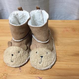ベビーギャップ(babyGAP)のbaby gap もこもこファー&ムートン風のクマさんブーツ(ブーツ)