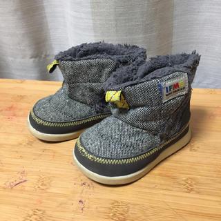 イフミー IFME ファー ツイードのブーツ 12.5(ブーツ)