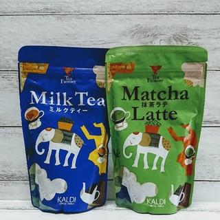 ⭐カルディオリジナル⭐ミルクティ&抹茶ラテ⭐