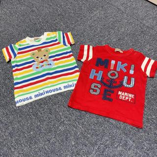 ミキハウス(mikihouse)のミキハウス 半袖Tシャツ 2枚セット(Tシャツ)