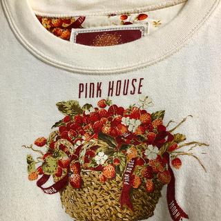 ピンクハウス(PINK HOUSE)の【最終お値下げ中】ピンクハウス 籠いちごのトレーナー(トレーナー/スウェット)