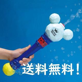 ミッキーマウス プレミアムバブルワンド しゃぼん玉メーカー 電動 6月新製品(その他)