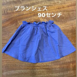 Branshes - 【新品未使用品】ブランシェス 90 女の子 スカート パープル 紫 ベビーキッズ