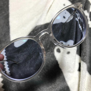 ゾフ(Zoff)のメガネ 青カラーレンズ(サングラス/メガネ)