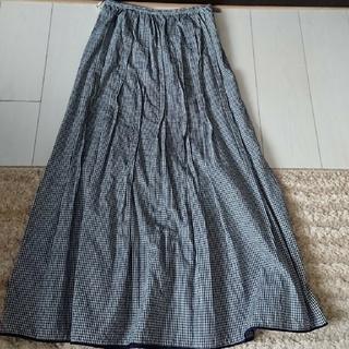 ロイスクレヨン(Lois CRAYON)のロングスカート、スエードバック(ロングスカート)