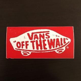 ヴァンズ(VANS)の(縦6.2cm横13cm)VANS OLD ステッカー(その他)