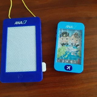 エーエヌエー(ゼンニッポンクウユ)(ANA(全日本空輸))のANAおもちゃ 2点セットです。(知育玩具)