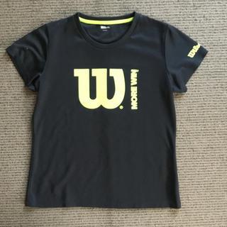 ウィルソン(wilson)のWilsonの黒のTシャツ(ウェア)