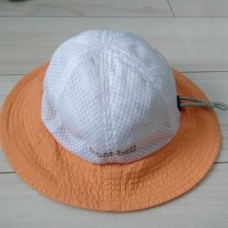 モンベル(mont bell)のmont bell baby's ワッフルハット オレンジ(帽子)