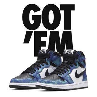 ナイキ(NIKE)のNIKE AIR JORDAN1 HIGH OG Tie-Dye 24(スニーカー)