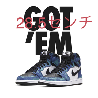 ナイキ(NIKE)のNike Air Jordan 1 High OG Tie-Dye Womens(スニーカー)