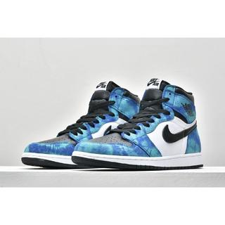 ナイキ(NIKE)の24.5cm NIKE AIR JORDAN 1 HIGH TIE DYE(スニーカー)