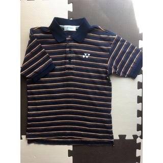 ヨネックス(YONEX)のヨネックス ボーダー半袖ポロシャツ(Tシャツ/カットソー)