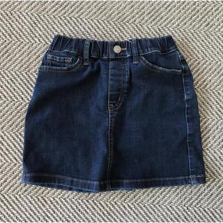 デニム・スカート 120センチ