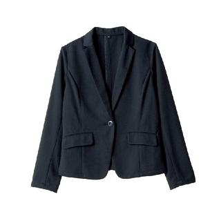 シマムラ(しまむら)の新品♡しまむら 黒ジャッケット Lサイズ(テーラードジャケット)