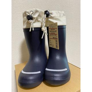 ムジルシリョウヒン(MUJI (無印良品))のMUJI 無印良品 ベビーレインシューズ(長靴/レインシューズ)