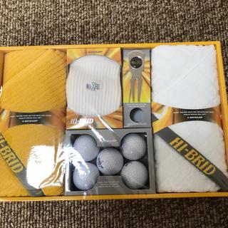 ダンロップ(DUNLOP)の新品未使用 DUNLOP HI-BRID ゴルフ小物セット(その他)