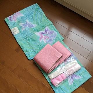 ヒロミチナカノ(HIROMICHI NAKANO)のhiromichi nakano浴衣、帯、こしひもセット新品(浴衣)