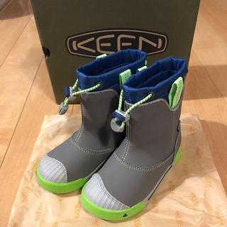 【週末限定割引‼︎】KEEN キーン 長靴 16cm 【超美品】