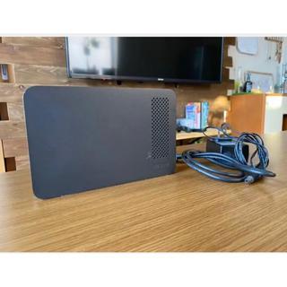 バッファロー(Buffalo)のバッファロー hd-lcu3 1TB 外付けHDD テレビ録画機器(テレビ)
