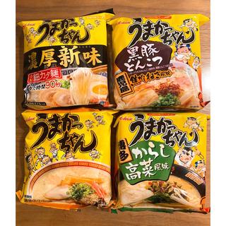 ハウスショクヒン(ハウス食品)の【九州限定】うまかっちゃん4種(インスタント食品)