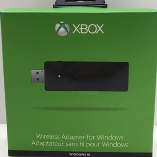 エックスボックス(Xbox)のXbox ワイヤレスアダプター for Windows10(家庭用ゲーム機本体)