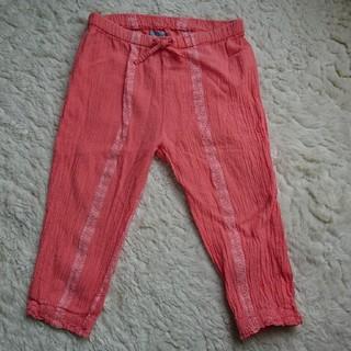 ベビーギャップ(babyGAP)のbabyGAP・サーモンピンク・綿パンツ・80サイズ(パンツ)