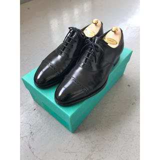 エドワードグリーン(EDWARD GREEN)の【美品】エドワードグリーン バークレー ブラック UK7 E82 (ドレス/ビジネス)