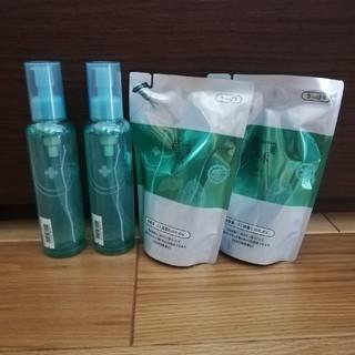 ソウカモッカ(草花木果)の草花木果 化粧水 さっぱり 竹 本体2本 詰替え2パック(化粧水/ローション)