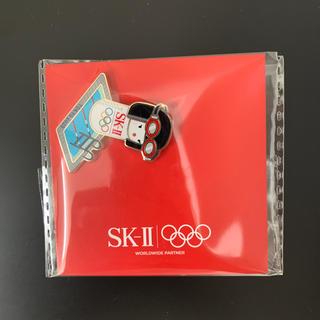 エスケーツー(SK-II)のSK-Ⅱ限定オリンピックピンバッジ(バッジ/ピンバッジ)