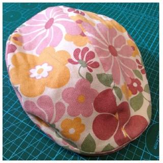 花柄 ハット(ハンチング/ベレー帽)