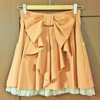 シークレットマジック(Secret Magic)のバックリボン♡フレアスカート(ひざ丈スカート)