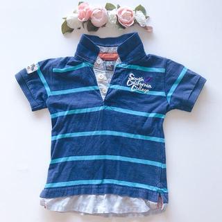ブリーズ(BREEZE)の♡zara100/110 重ね着風カレッジポロシャツ♡(Tシャツ/カットソー)