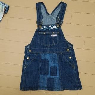 ブリーズ(BREEZE)のBREEZE 110cm  ジャンパースカート(スカート)