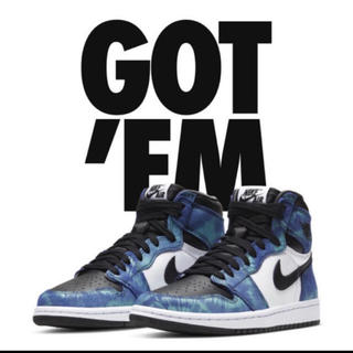ナイキ(NIKE)のNike Air Jordan 1 High OG   Tie-Dye 28.5(スニーカー)