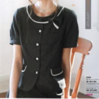 Joie (ファッション) - 値下げ❗新品☆事務服13号 オーバーブラウス半袖