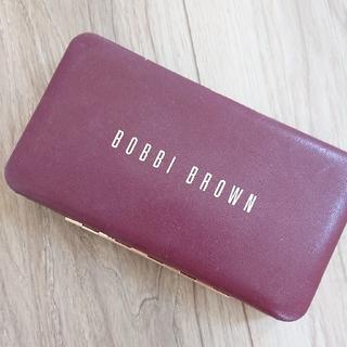 ボビイブラウン(BOBBI BROWN)のボビィブラウン  メイクブラシ ティッシュケース二点(コフレ/メイクアップセット)