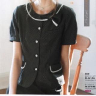 Joie (ファッション) - 着用数回☆事務服13号 オーバーブラウス半袖