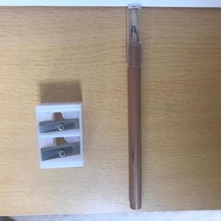 ムジルシリョウヒン(MUJI (無印良品))の無印良品 アイライナーペンシル ブラック & 削り器(アイライナー)